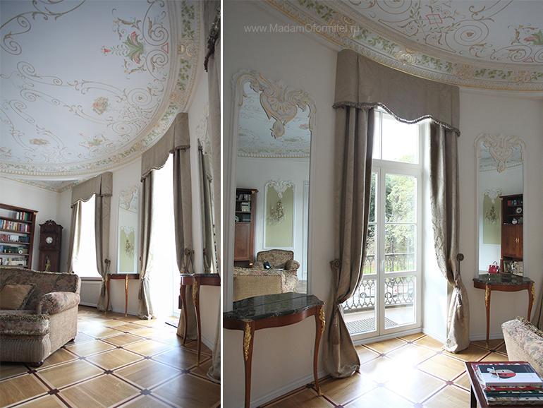 шторы на заказ, шторы от Мадам Оформитель, пошив штор на заказ, шторы в спальню, пошив штор в Санкт-Петербурге, пошив штор, шторы в спальне, шторы в гостиной, шторы из бархата, кружево, бархат
