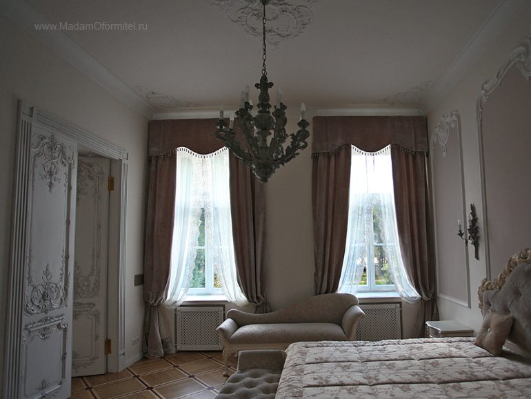 Как подобрать шторы, шторы на заказ, шторы от Мадам Оформитель, пошив штор на заказ, шторы в спальню, пошив штор в Санкт-Петербурге, пошив штор, шторы в спальне, шторы в гостиной, шторы из бархата, кружево, бархат