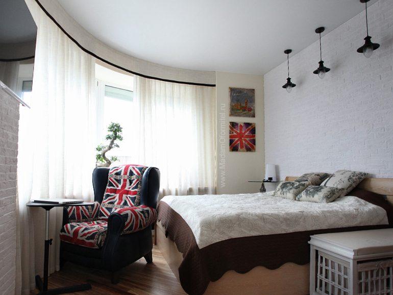 шторы от Мадам Оформитель, шторы с кантом, пошив штор в Санкт-Петербурге, пошив штор Спб