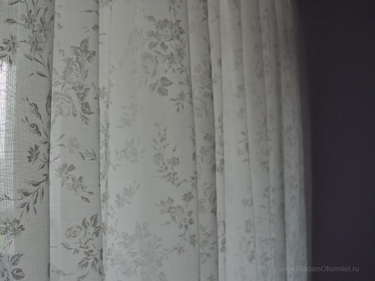 шторы от Мадам Оформитель, шторы с кантом, пошив штор в Санкт-Петербурге, пошив штор Спб, шторы в стиле Прованс , оформление спальни