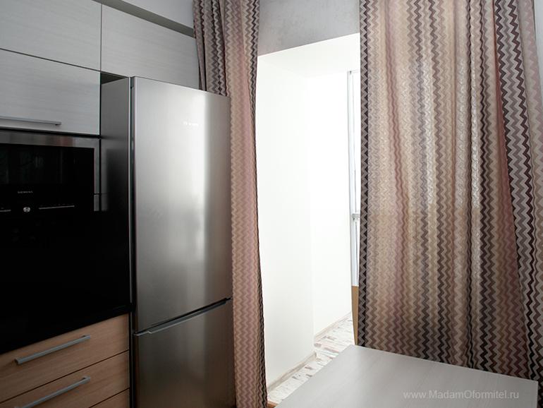 шторы от Мадам Оформитель, шторы с кантом, пошив штор в Санкт-Петербурге, пошив штор Спб,  шторы на кухне