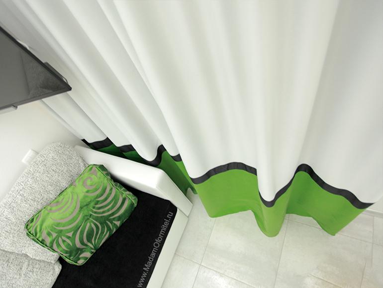 Шторы ColorBlock,  шторы от Мадам Оформитель, пошив штор на заказ в СПб, декоративные подушки, чехлы на мебель, текстильное оформление