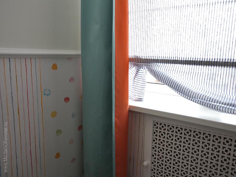 шторы в спальне, шторы на заказ, шторы от Мадам Оформитель, пошив штор на заказ, шторы в детской, пошив штор в Санкт-Петербурге, пошив штор, шторы на подкладе, светонепроницаемые шторы, детские шторы