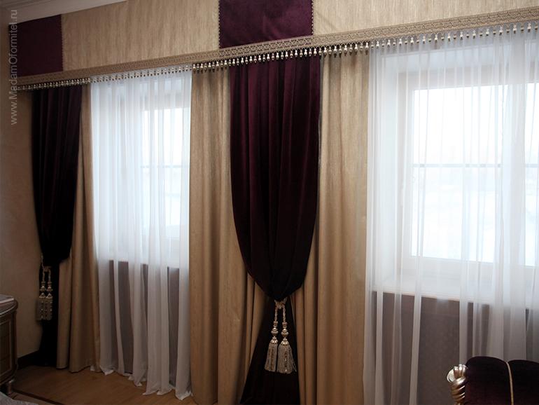 шторы в спальне, шторы на заказ, шторы от Мадам Оформитель, пошив штор на заказ, шторы в спальню, пошив штор в Санкт-Петербурге, пошив штор, шторы в спальне, шторы в гостиной, шторы из бархата, бархат, дорогие шторы