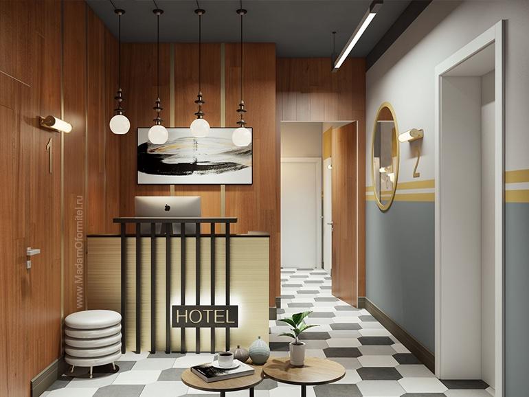 Дизайн проект мини-отеля